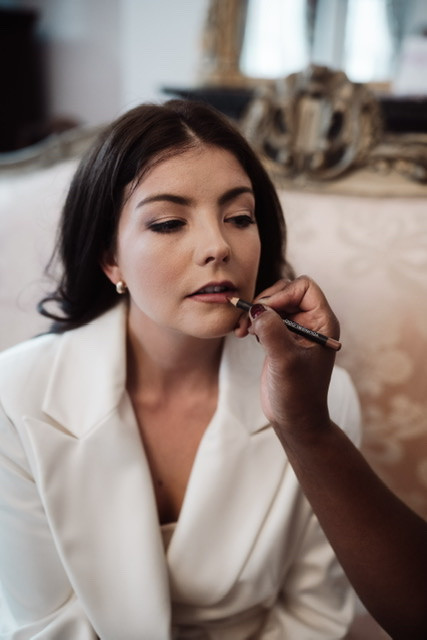 - Make Me Bridal Artist: Joyce Connor Make Up. Photography by: Emma Ryan. #classic #bridalmakeup #weddinghair #weddinghairandmakeup