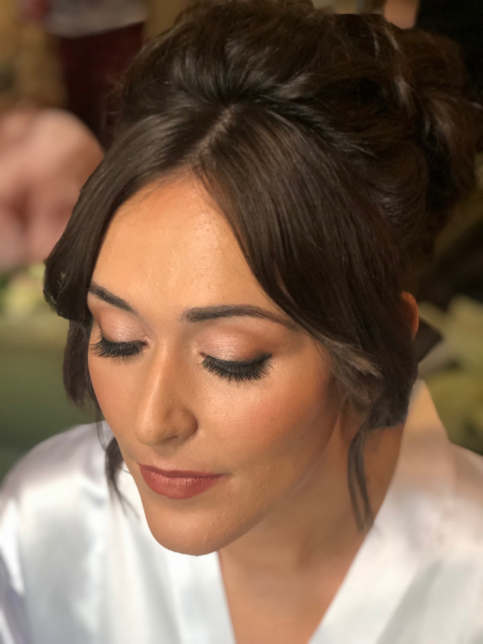 Beautiful, glowing bridal makeup which enhances your natural beauty. - Make Me Bridal Artist: Lee O'D Makeup & Hair. Photography by: Lee O'D. #naturalmakeup #bridalmakeup #bridalhair #perfectmakeup #updo #dewyskin #weddingmakeup #weddingmakeup #glowingskin