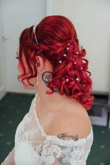 - Make Me Bridal Artist: Blushing Brides Wedding Hair & Make up. #glamorous