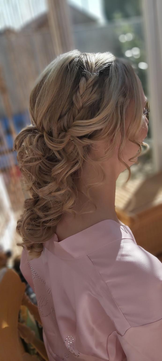 - Make Me Bridal Artist: Blushing Brides Wedding Hair & Make up. #glamorous