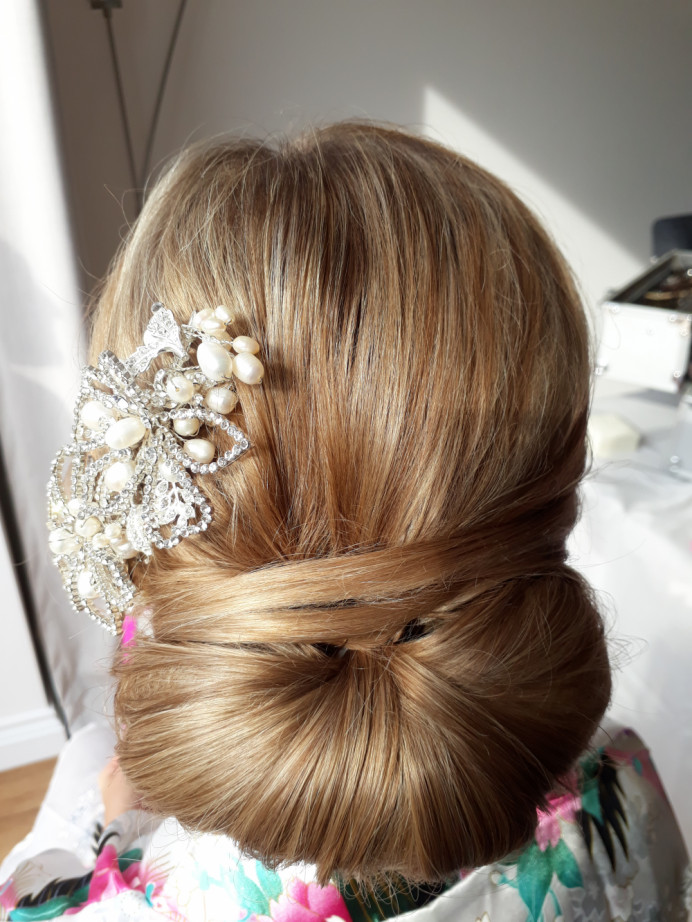 - Make Me Bridal Artist: Blushing Brides Wedding Hair & Make up. #classic