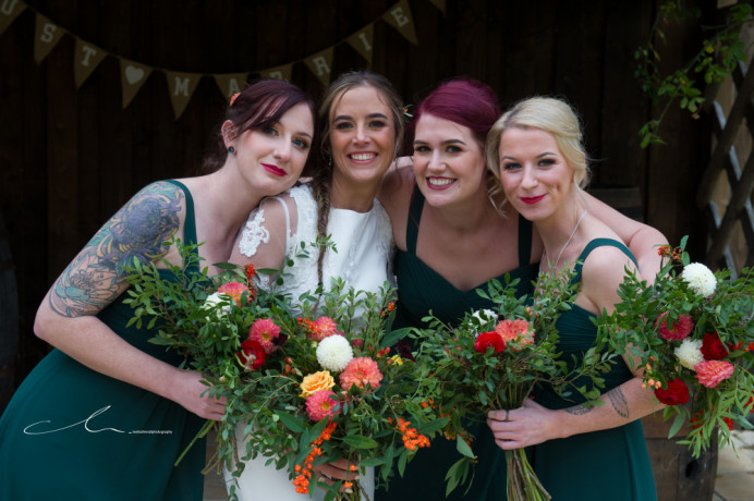- Make Me Bridal Artist: Leanne Hart - Makeup Artist . Photography by: Lee Hatherall Photography. #autumn