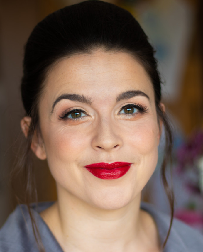 - Make Me Bridal Artist: Leanne Hart - Makeup Artist . Photography by: Leanne Hart. #bridalmakeup #redlip