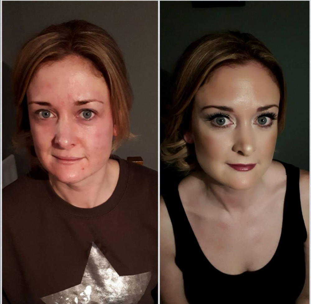 - Make Me Bridal Artist: Makeup and Nouveau Lashes by Naomi Frazer.