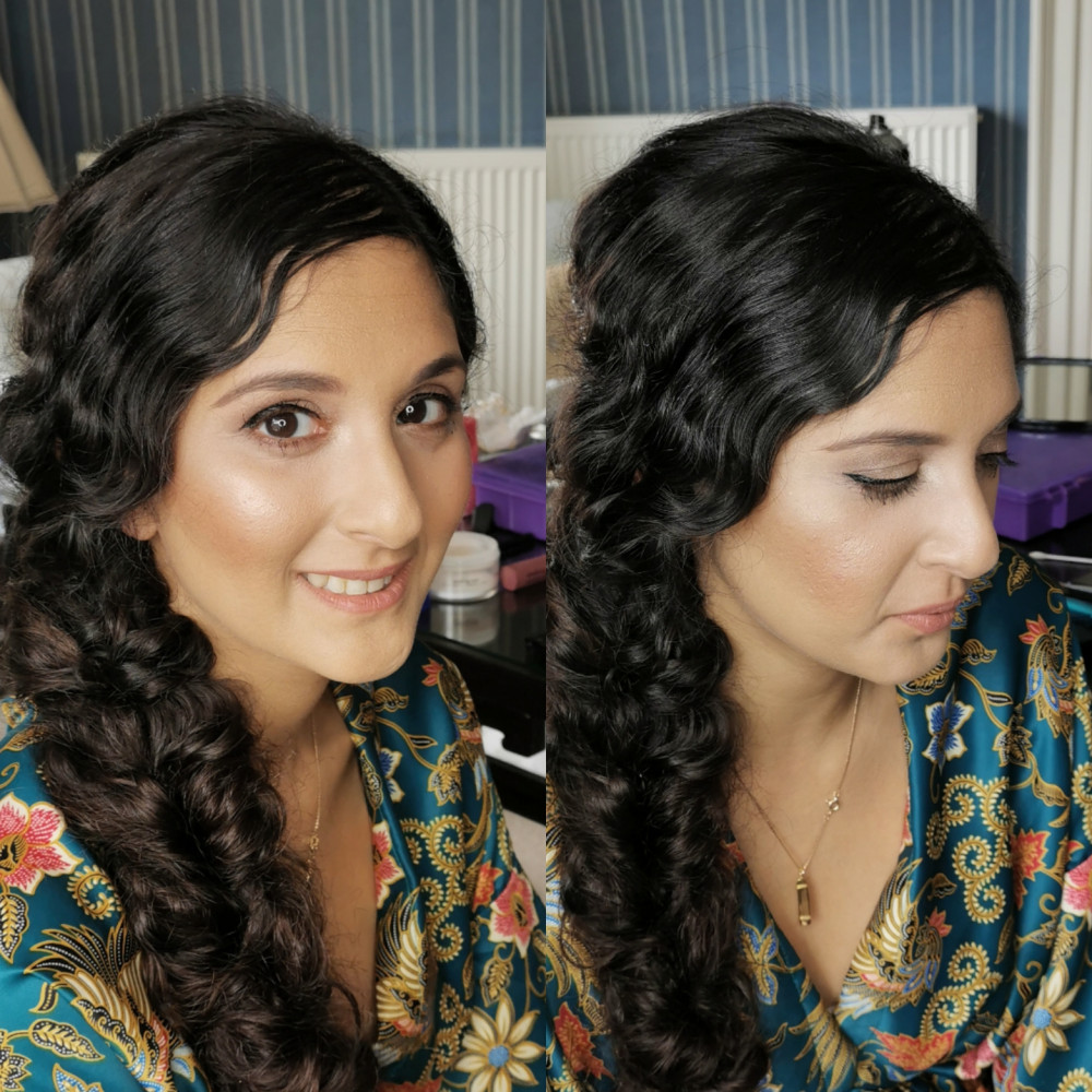 - Make Me Bridal Artist: Makeup and Nouveau Lashes by Naomi Frazer.