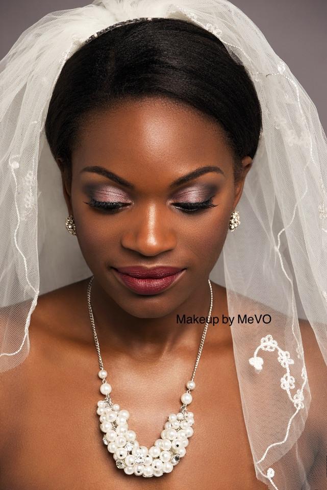 - Make Me Bridal Artist: Makeup by MeVO. Photography by: Arron Dunworth . #classic #boldlip #timeless #blackbride #cleanbeauty