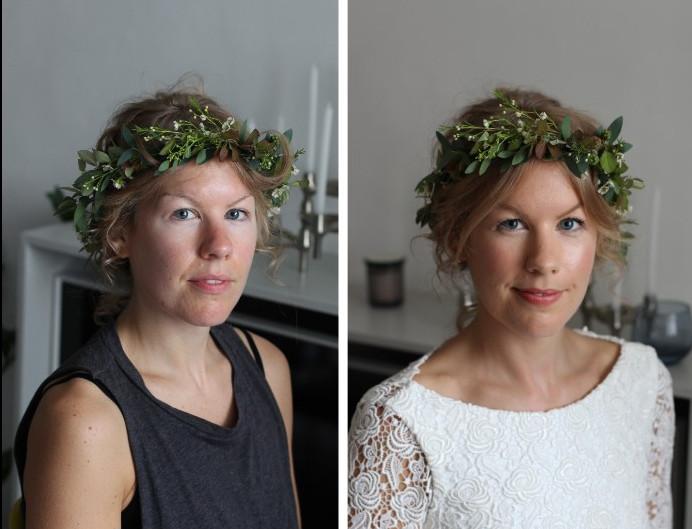 Bride's makeup - Make Me Bridal Artist: Jurga Sidagyte Make up artist. Photography by: Photographed by me.