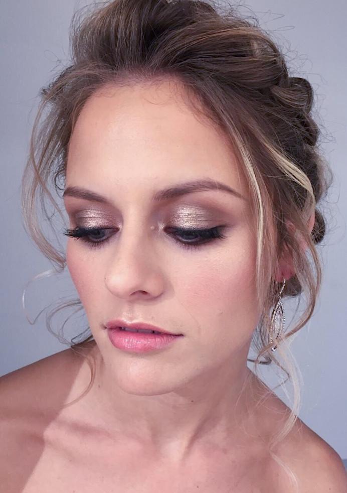 Makeup by Gurdeep. Hair by Mae. - Make Me Bridal Artist: House Of Thabiso. #bohemian #classic #glamorous #glow #bridalhair #upstyle