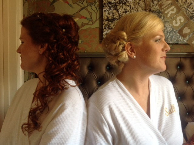 Completed Hair & Make up for the bridemaids - Make Me Bridal Artist: Susan Hunter Bridal Hair & Makeup.