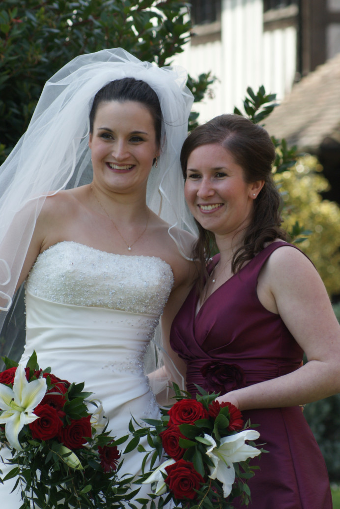 Both Bride & Bridesmaides Hair & Make up created by SHBridal - Make Me Bridal Artist: Susan Hunter Bridal Hair & Makeup.