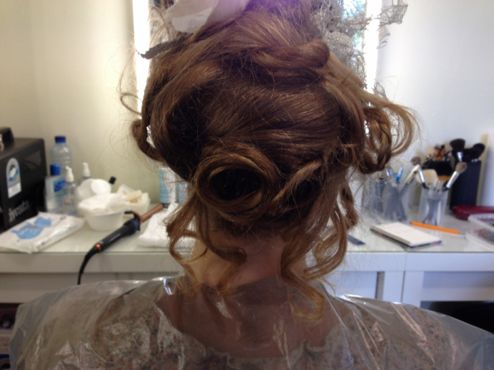 1800 Jane Austin theme both Hair & Make up.