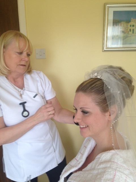 - Make Me Bridal Artist: Susan Hunter Bridal Hair & Makeup.
