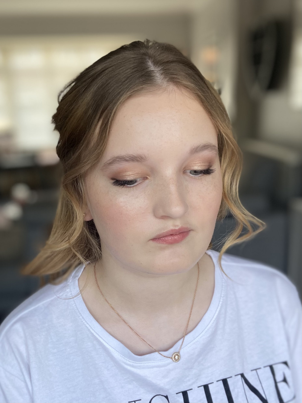 Soft prom makeup - Make Me Bridal Artist: Jessica Makeup and Hairstyling. #surreymakeupartist #hampshiremakeupartist #prommakeup #professionalmakeup #softglam