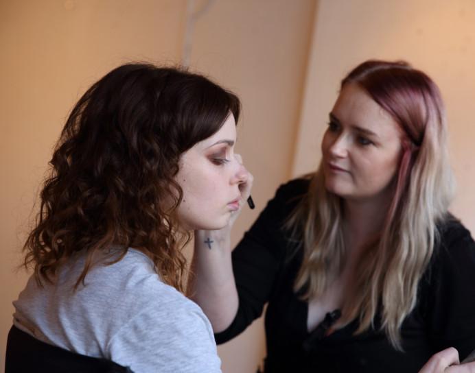 - Make Me Bridal Artist: Sarah Patterson Hair and Make Up Artist. Photography by: Jules Holland .