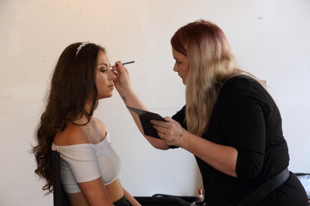 - Make Me Bridal Artist: Sarah Patterson Hair and Make Up Artist. Photography by: Julia Holland.