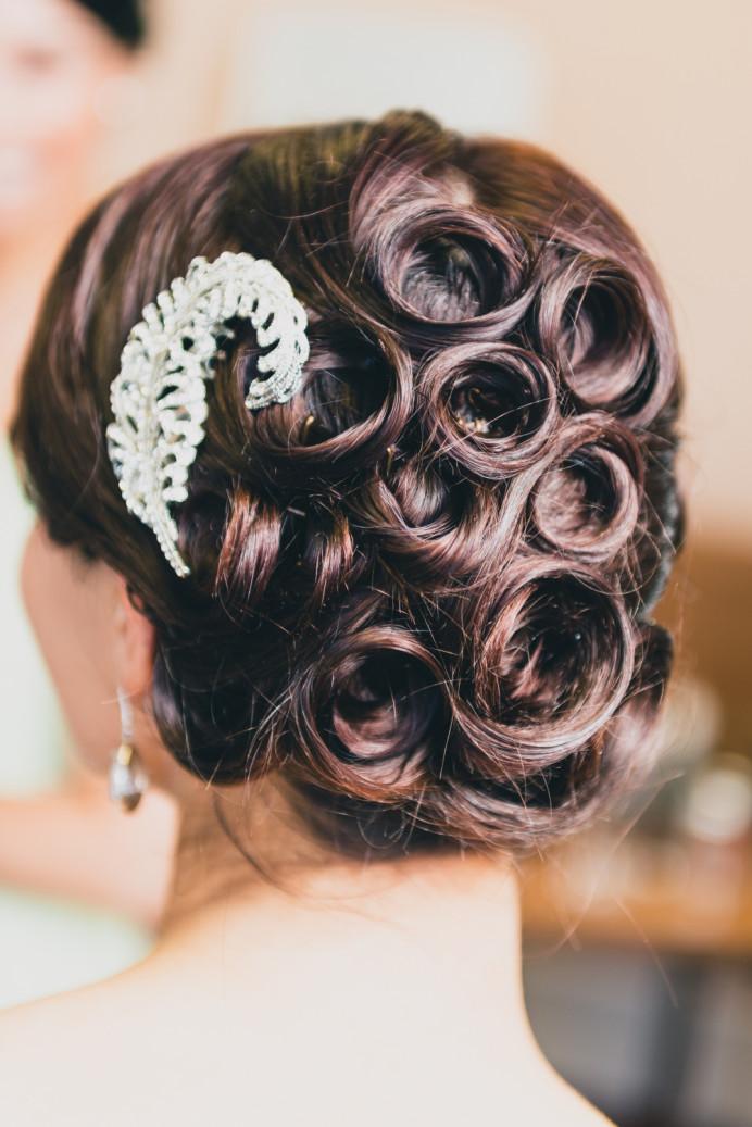 - Make Me Bridal Artist: Pretty Please by Katie. #vintage #hairup #swirls #romantic