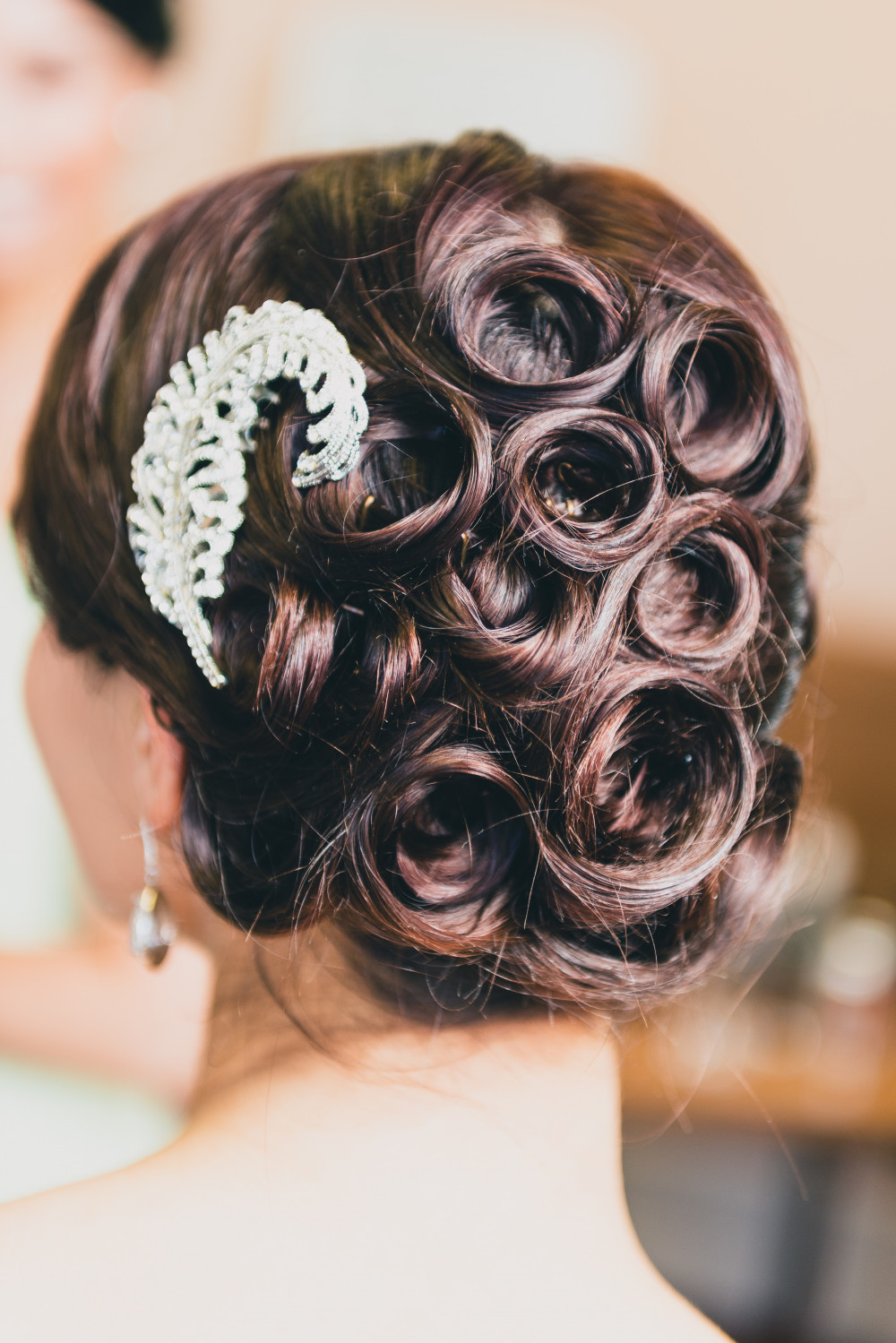 - Make Me Bridal Artist: Pretty Please by Katie. #vintage #hairup #swirls #romantic
