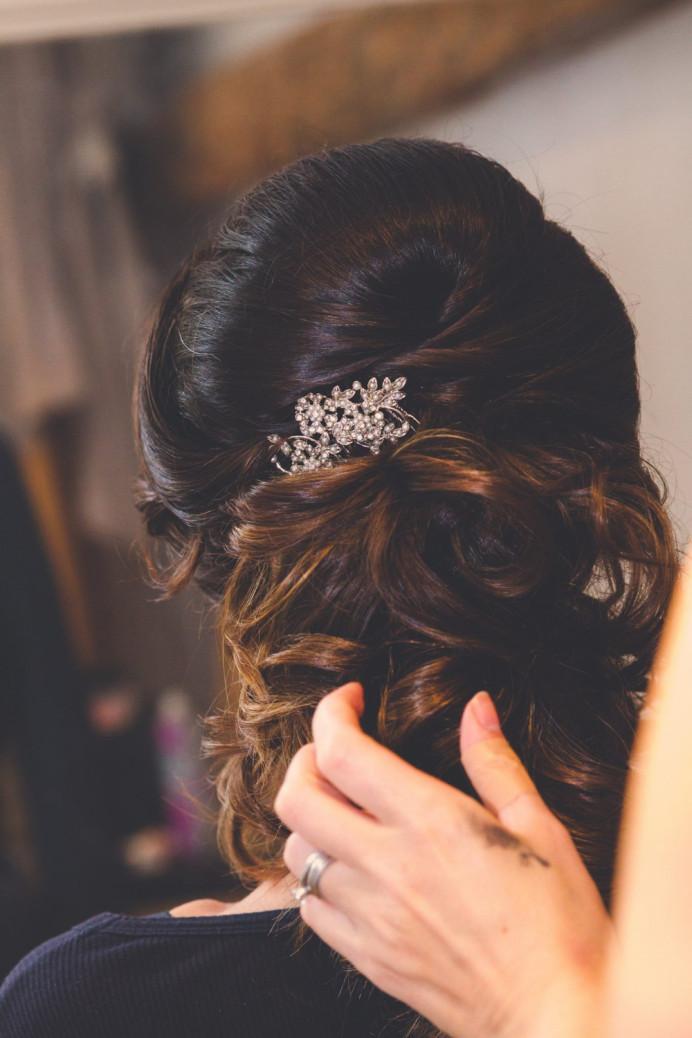 - Make Me Bridal Artist: Pretty Please by Katie. #classic #vintage #curls #bridalhair #bridalhairstylist