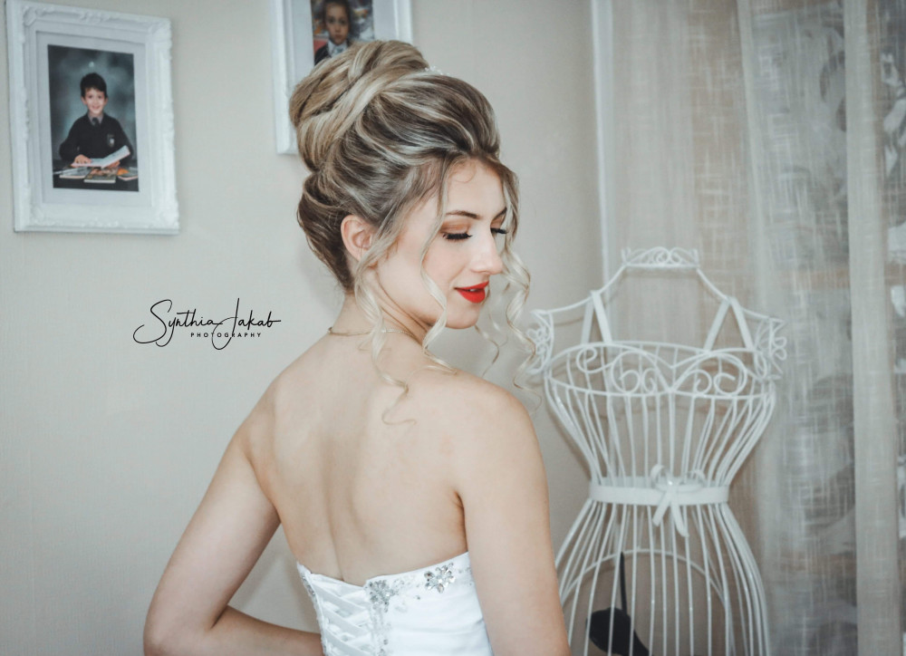 - Make Me Bridal Artist: Lily of the Valley hair design. Photography by: Synthia Jakab. #blonde #bridalhair #soft #elegant #hairup #weddinghair #bridalhairstylist
