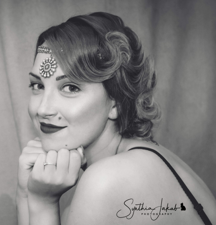 - Make Me Bridal Artist: Lily of the Valley hair design. #vintage #glamorous #blonde #bridalhair #elegant #pretty #weddinghair #bridalhairstylist #photoshoot
