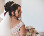 Lily of the Valley hair design - Bridal Artist