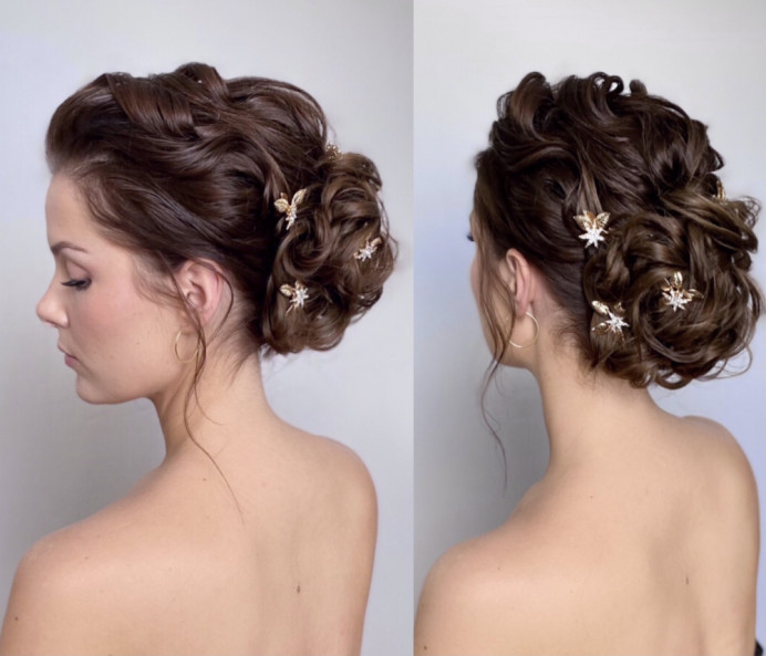 - Make Me Bridal Artist: Gavin Harvie Hair. #glamorous #relaxedupdo #texturedupdo #messyupdo