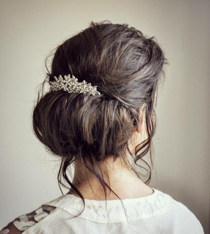 - Make Me Bridal Artist: Gavin Harvie Hair. #classic #vintage #glamorous #updo #lowupdo