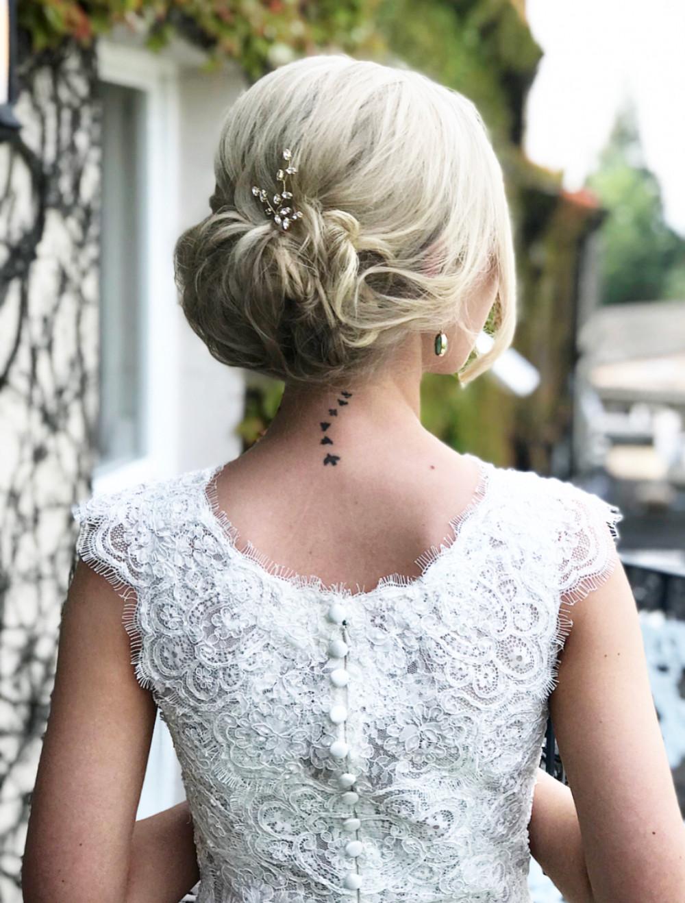 - Make Me Bridal Artist: Gavin Harvie Hair. #classic #glamorous #lowupdo #relaxedupdo