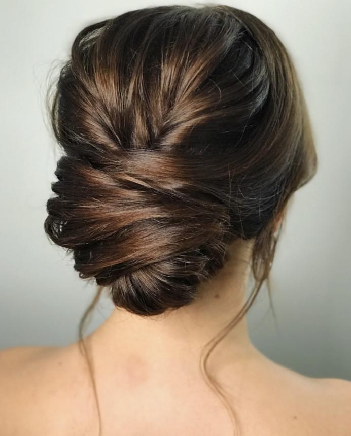 - Make Me Bridal Artist: Gavin Harvie Hair. #glamorous #updo #lowupdo #classic #texturedupdo
