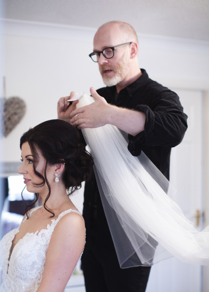 - Make Me Bridal Artist: Gavin Harvie Hair. #classic #glamorous #weddingweddinghairweddinginspobridebridehairveildevonwedding