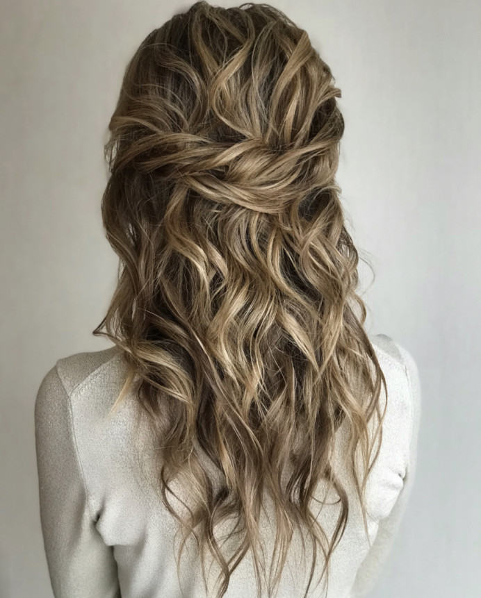 - Make Me Bridal Artist: Gavin Harvie Hair. #boho #bohobride #bohowaves