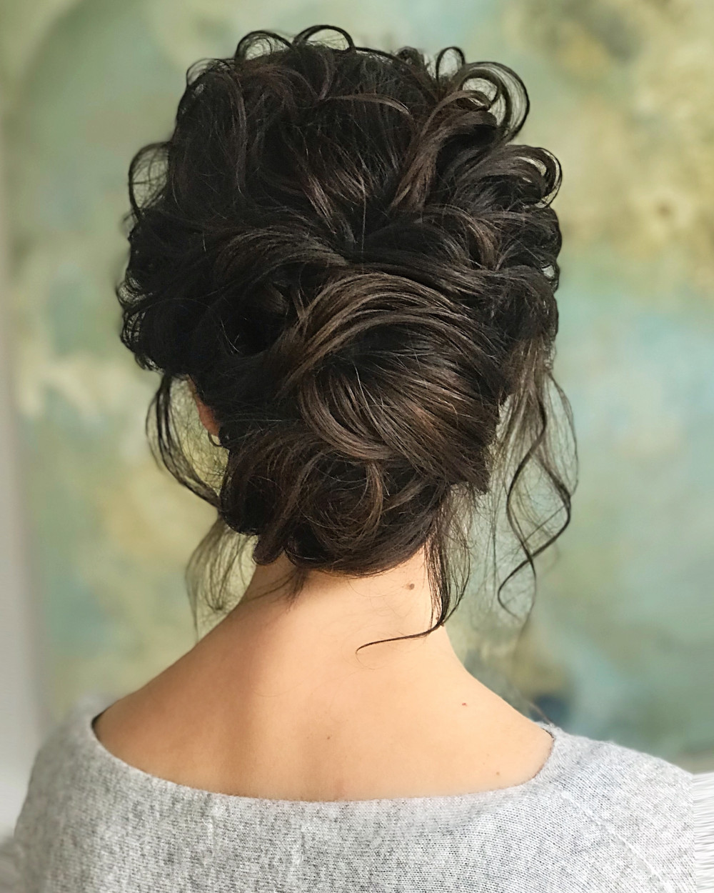 - Make Me Bridal Artist: Gavin Harvie Hair. #bohemian #boho #updo #elegant #lowupdo #messybun #bohobride #messyupdo
