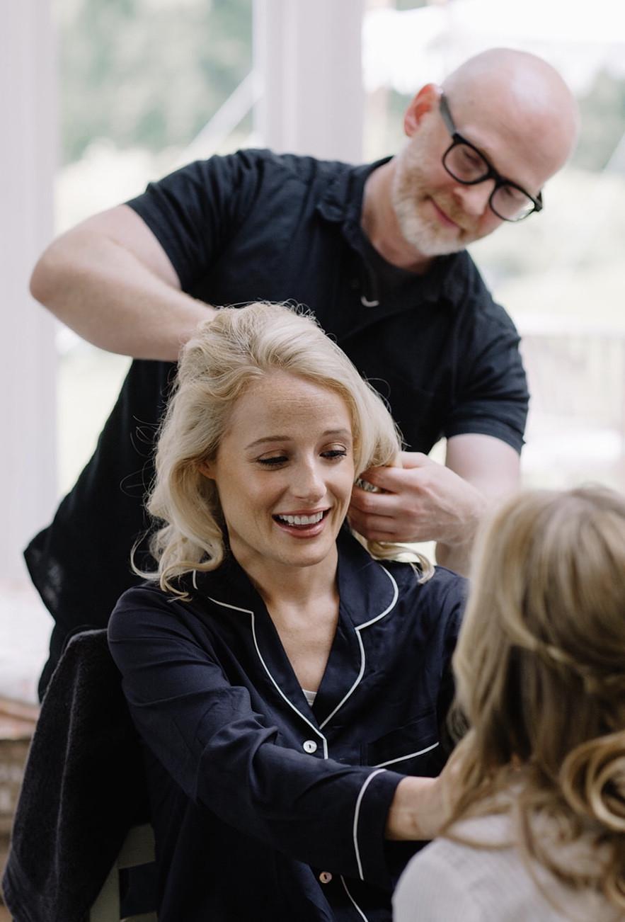 - Make Me Bridal Artist: Gavin Harvie Hair. Photography by: Rebecca Goddard.