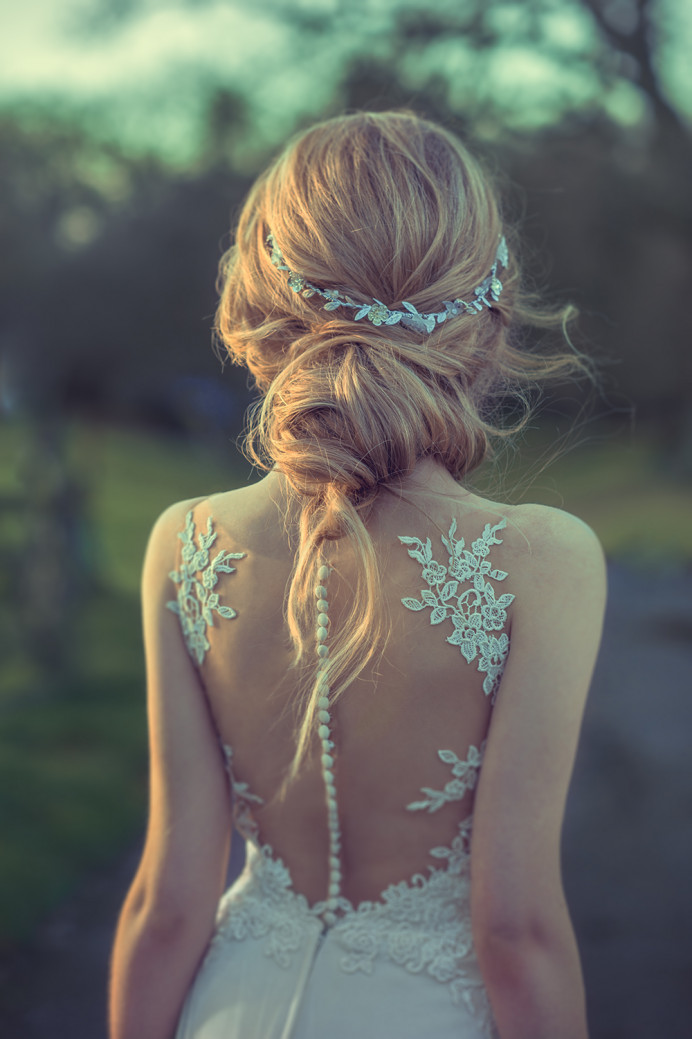 - Make Me Bridal Artist: Melissa Clare Makeup & Hair. Photography by: Natalia D'ark. #bohemian #bridalhair #rustic #chignon #messybun #bohobride