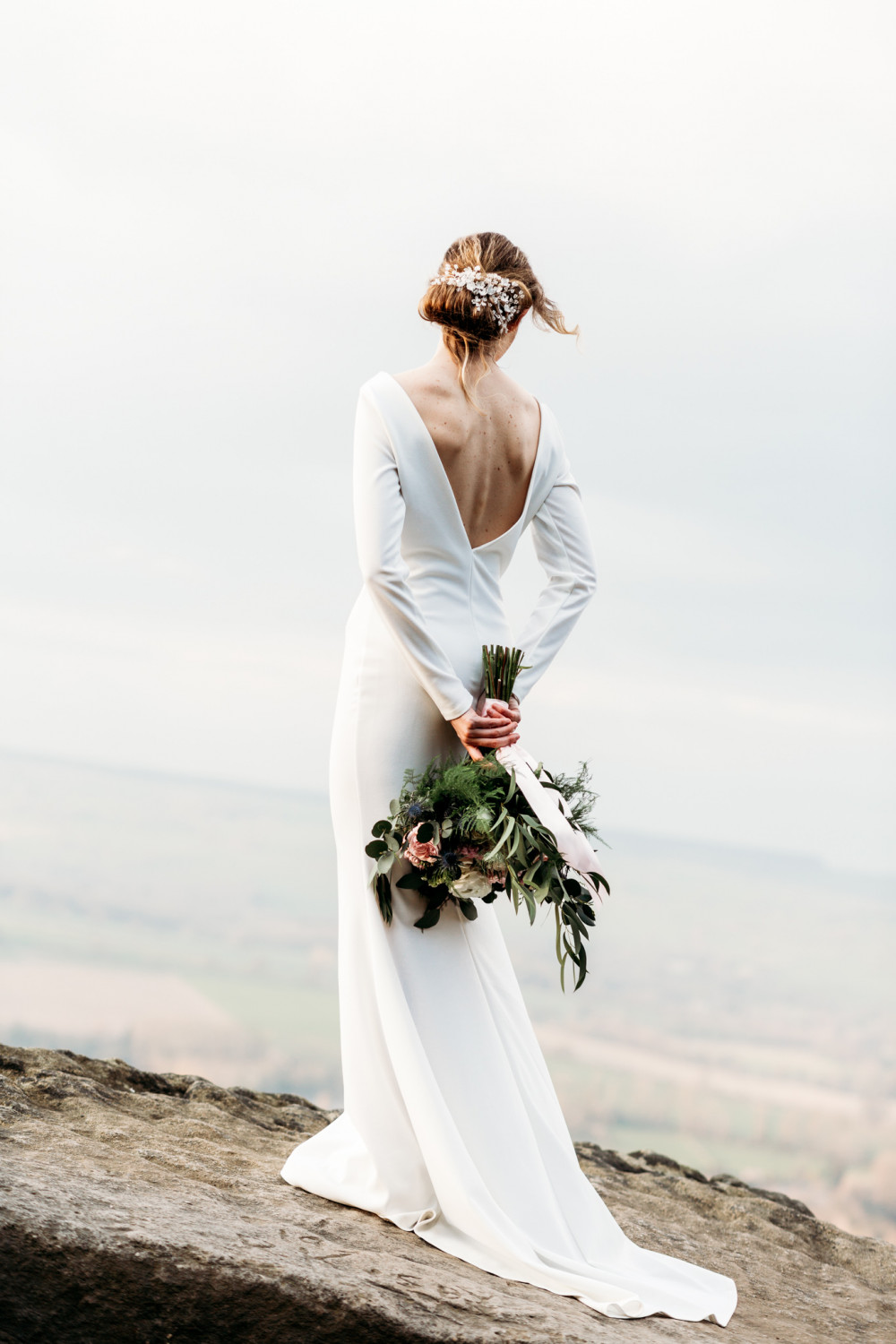 Styled shoot featured in Brides up North https://bridesupnorth.com/2019/05/09/moorland-romance-an-alluring-styled-shoot-at-the-chilli-barn/ 
