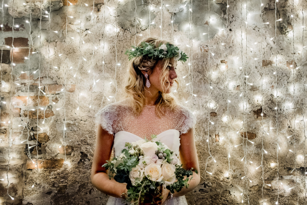 This stunning photo shoot has been featured on several blogs and is currently on the front cover of Your Yorkshire Wedding magazine with a full feature inside. https://www.youryorkshire.wedding/ - Make Me Bridal Artist: Nicola Whitfield MUA. Photography by: kieran paul photography. #bohemian #naturalmakeup #airbrushedmakeup #fishtailbraid #christmaswedding #crueltyfreebride