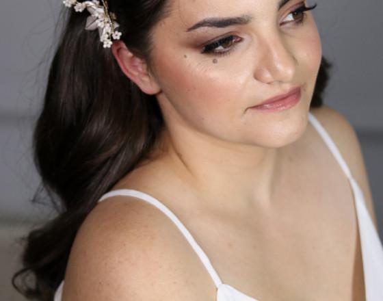 Ema Bridal makeup