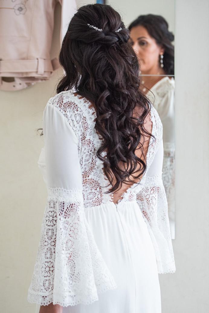 - Make Me Bridal Artist: Ema Bridal makeup. #bohemian #boho #halfuphair