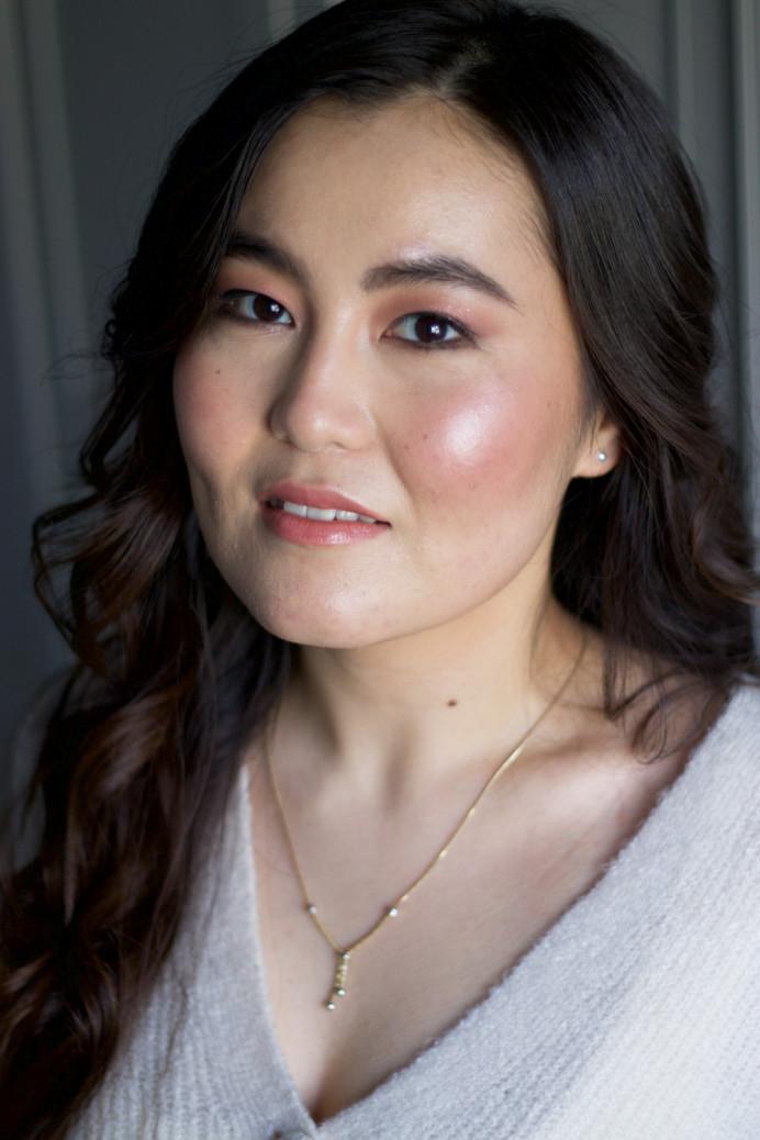 Fresh glowing makeup - Make Me Bridal Artist: Ema Bridal makeup. #classic #naturalmakeup #bridalmakeup #glow #roselip