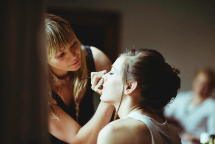 Precision eyeliner! - Make Me Bridal Artist: Mairi Gordon MUA. #classic #vintage