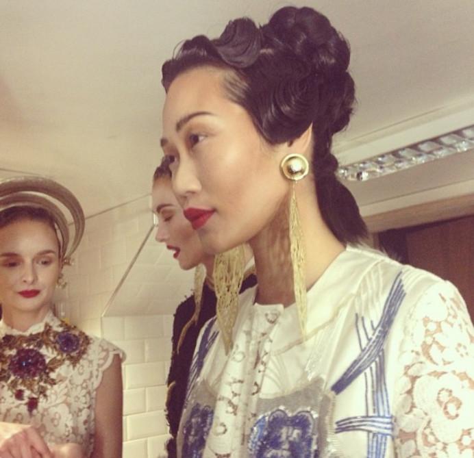 Fashion week - Make Me Bridal Artist: Kat Sykes. #glowingskin #radiantskin