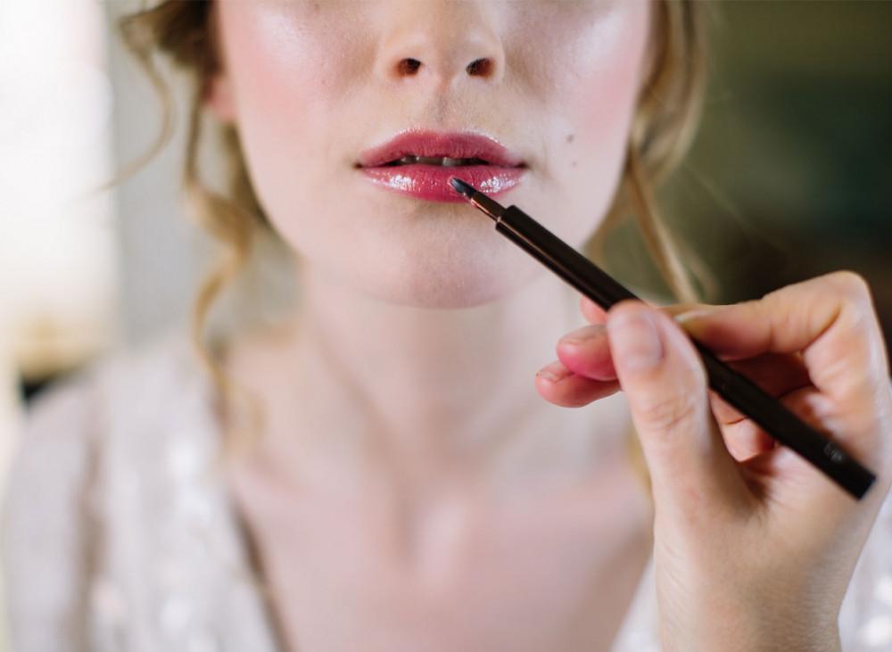 - Make Me Bridal Artist: Julia Jeckell Hair and Make-up Artist. Photography by: Aden Preist. #weddingmorning #bridalmakeup #weddingguests #weddinghairandmakeup #nudelip