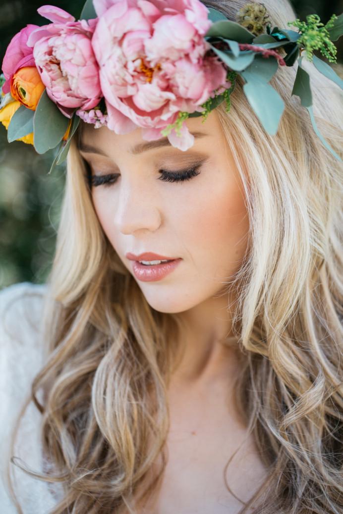 - Make Me Bridal Artist: Julia Jeckell Hair and Make-up Artist. Photography by: Aden Preist. #flowercrown #flowersinherhair #flowers #flowergirls