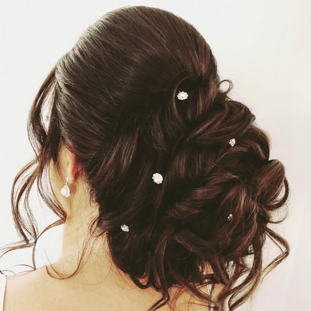 - Make Me Bridal Artist: Kelly Hanks Hair Design . #classic #elegant