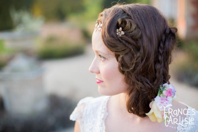 - Make Me Bridal Artist: Willow De La Roche. Photography by: Frances Carlisle. #bohemian #fresh #hairup #bridalhairstylist #hairacsessories