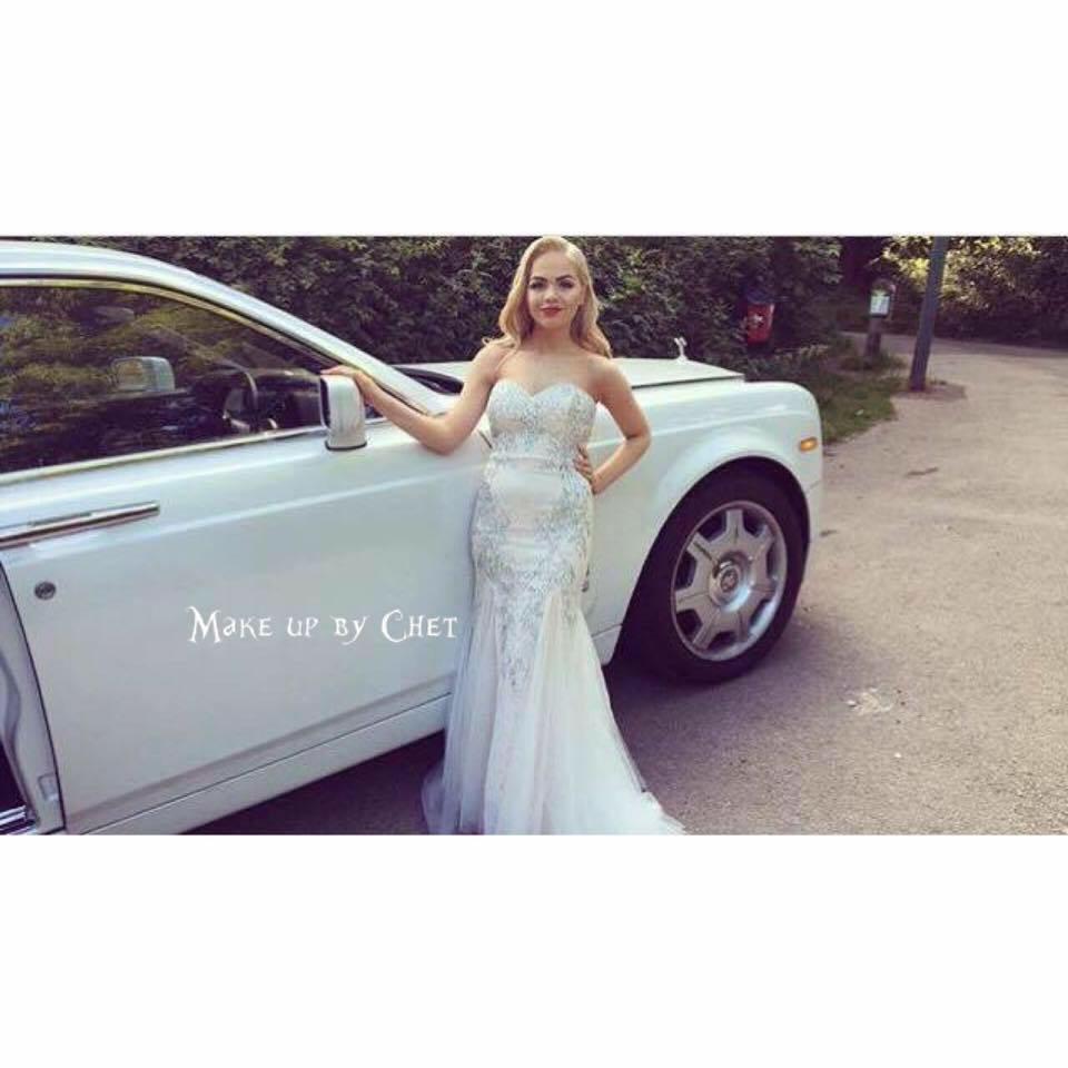 - Make Me Bridal Artist: Make up by Chet.