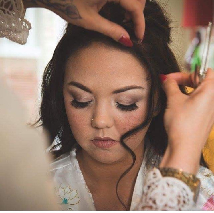 I created this simple and most elegant style for molly on her wedding day, it's an all time classic example of class, x - Make Me Bridal Artist: Desired lengths hairdresser and makeup artist. #classic #vintage #naturalmakeup #halfuphair #weddinghair #natural #weddinghairandmakeup #naturalmakeup #waves #wavyhair #weddingmakeup #northamptonmakeupartist #northamptonshiremakeupartist #desiredlengths