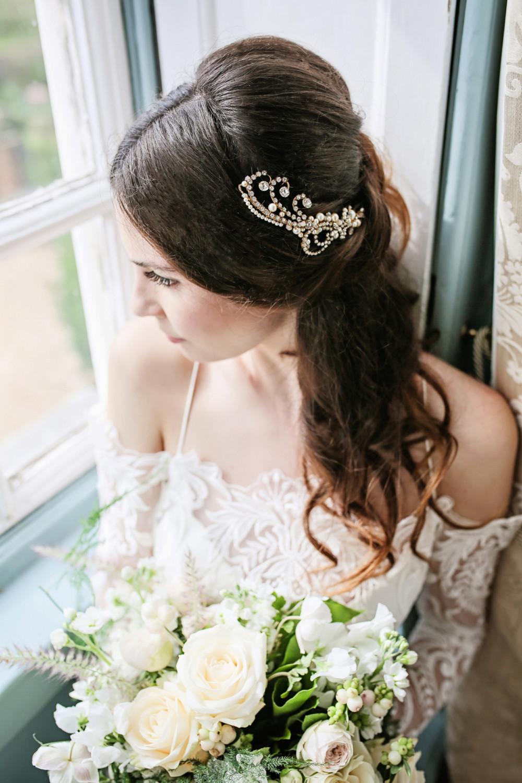 - Make Me Bridal Artist: Mari Chase Makeup & Hair. #vintage #glamorous #halfuphair