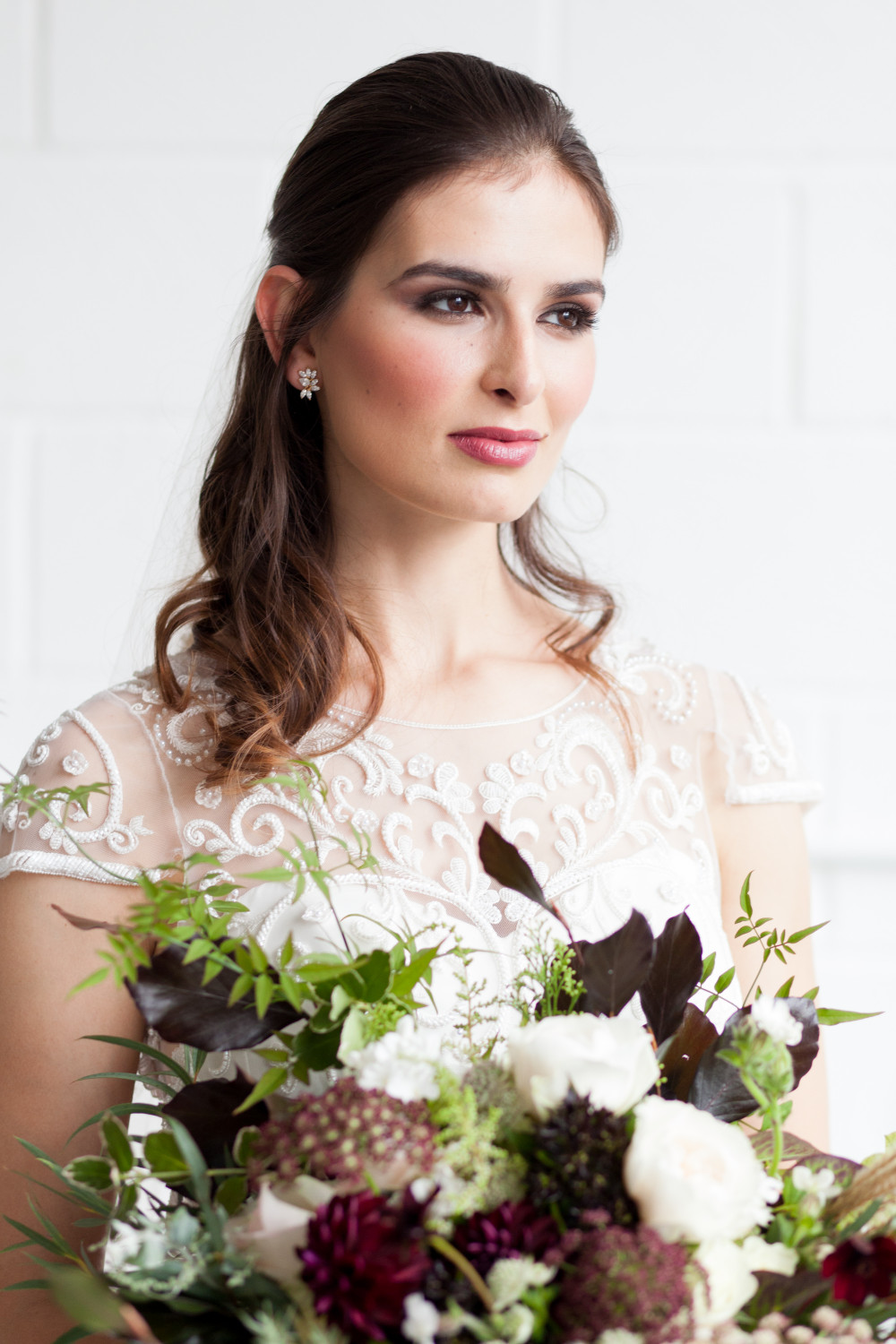 Styled shoot for Bloved Blog.  Hair & Makeup by me. - Make Me Bridal Artist: Mari Chase Makeup & Hair. Photography by: Helen Warner . #glamorous