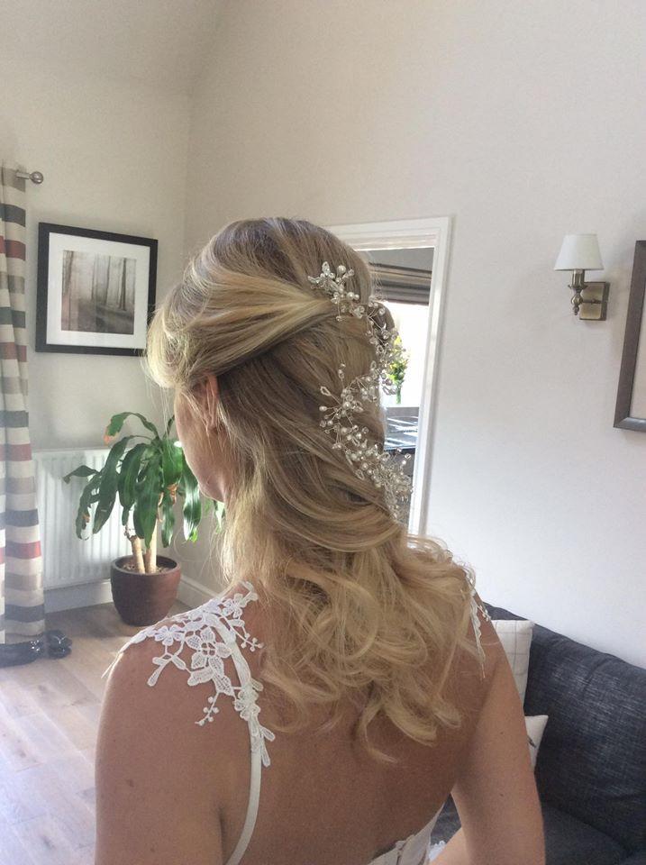 Bridal photoshoot Hair by Hannah Klewpatinond, HK Hair www.facebook.com/hairhkhair Accessories by Lucie Green Bridal - Make Me Bridal Artist: HK Hair. Photography by: Hannah Klewpatinond. #bohemian #hairvine #bridalhair #bridesmaidhair